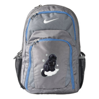 Newfoundland Puppy Nike Backpack