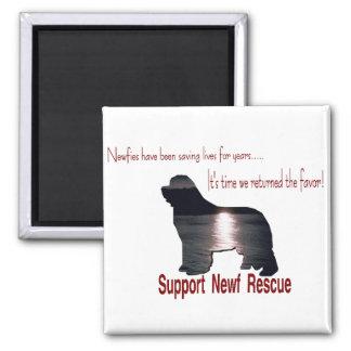 Newfoundland Rescue Magnet