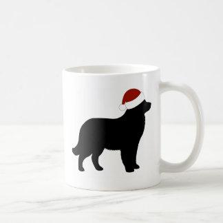Newfoundland Santa Hat Coffee Mug