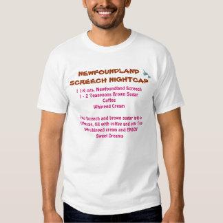 Newfoundland Screech Recipe T-Shirt