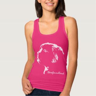 Newfoundland Shirt Personalized Puppy Dog Tank Top