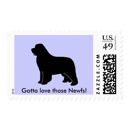 newfoundland silhouette postage
