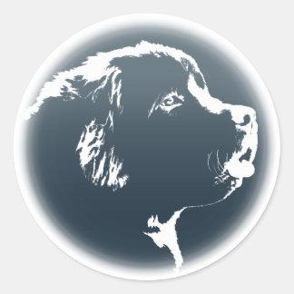 Newfoundland Stickers Newfoundland Dog Stickers