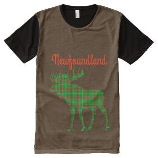 Newfoundland  Tartan American Apparel moose All-Over-Print Shirt