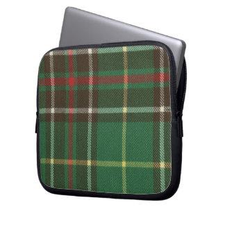 Newfoundland Tartan Neoprene Zippered Laptop Sleev Laptop Sleeve