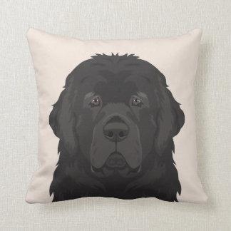 Newfoundland Throw Pillow