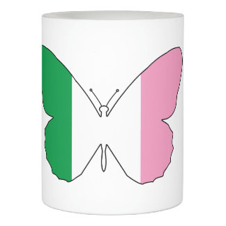 Newfoundland Tricolour Buttlerfly Flameless Candle