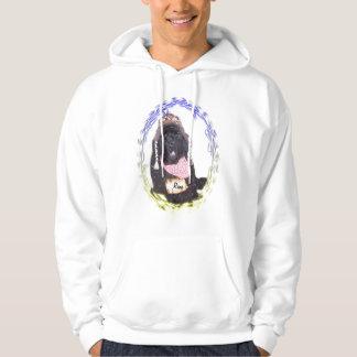 Newfoundland with rum keg hoodie