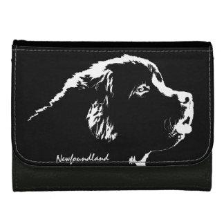 Newfoundlander Dog Wallet Newfoundland Pup Wallets