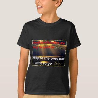 Newfoundlanders in Heaven T-Shirt