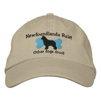 Newfoundlands Rule Embroidered Hat