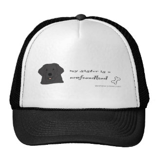 NewfoundlandSisterBlk Trucker Hat