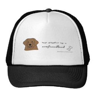 NewfoundlandSisterBrwn Trucker Hat