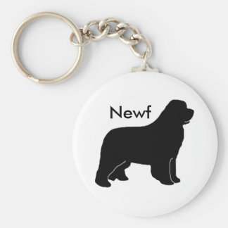 Newfy newf keychain