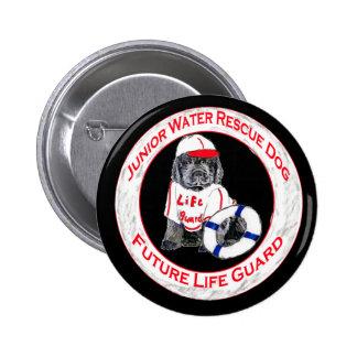 Newfy Puppy Lifeguard Button
