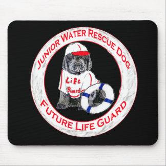 Newfy Puppy Lifeguard Mouse Pad