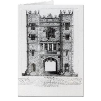 Newgate, London, pub. 1761 Card