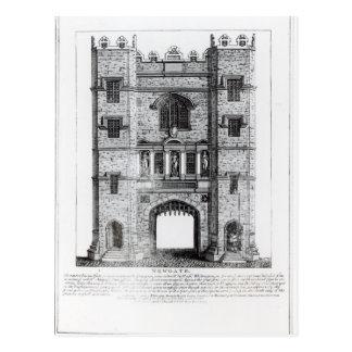 Newgate, London, pub. 1761 Postcard