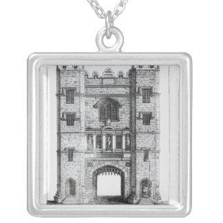 Newgate, London, pub. 1761 Silver Plated Necklace