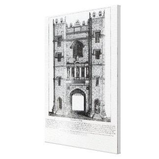 Newgate, Londres, pub. 1761 Impresión En Lona Estirada