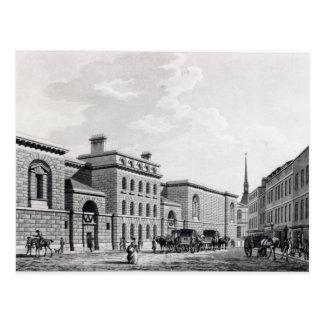 Newgate prison, 1799 postcard