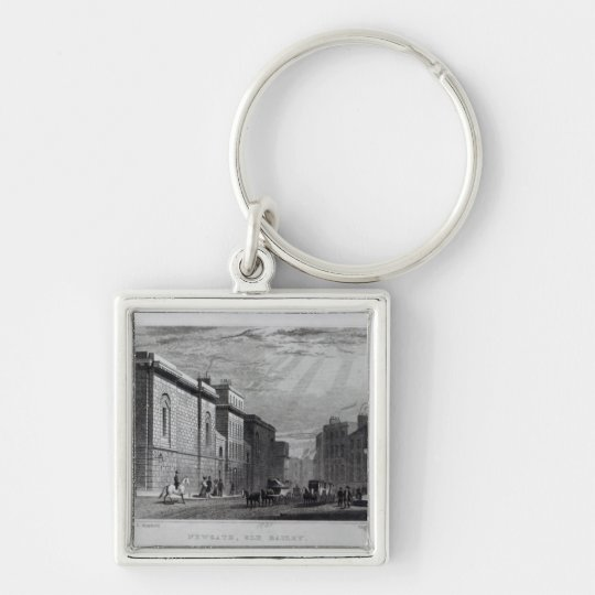 Newgate prison and the Old Bailey Keychain
