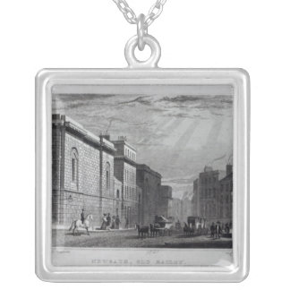 Newgate prison and the Old Bailey Silver Plated Necklace