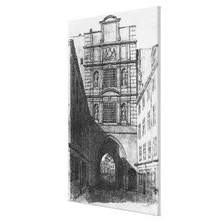 Newgate Prison Canvas Print