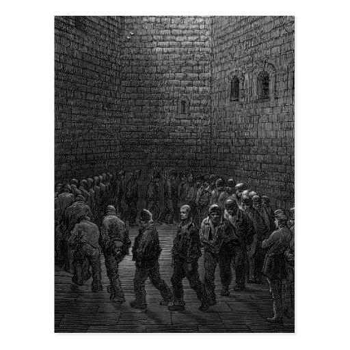 Newgate Prison Exercise Yard Postcard