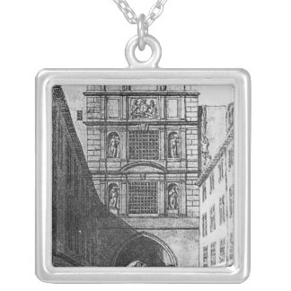 Newgate Prison Silver Plated Necklace