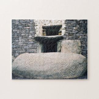 Newgrange megalithic tomb, Ireland Jigsaw Puzzle