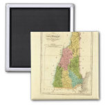 NewHampshire US 2 Inch Square Magnet