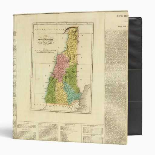 NewHampshire US 3 Ring Binder
