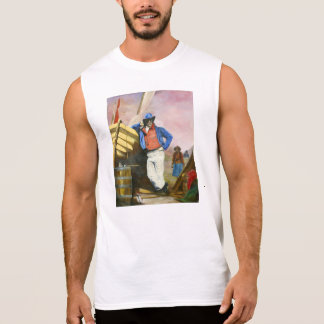 Newhaven.  His confidence mirrors your own. Sleeveless Shirt