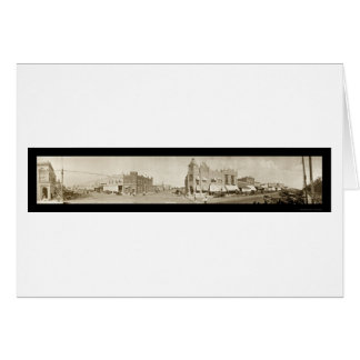 Newkirk, Oklahoma Photo 1909 Card