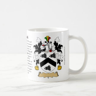 Newkirk, the Origin, the Meaning and the Crest Coffee Mug