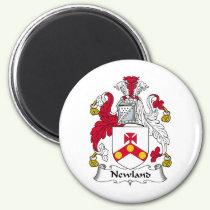 Newland Family Crest Magnet