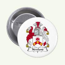 Newland Family Crest Button