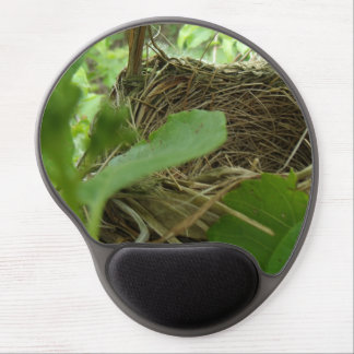 Newly Built but Empty Bird Nest in a Mulberry Tree Gel Mouse Pad