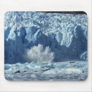 Newly-calved iceberg splashing into chilly mousepads