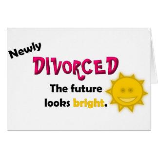 Newly Divorced Card