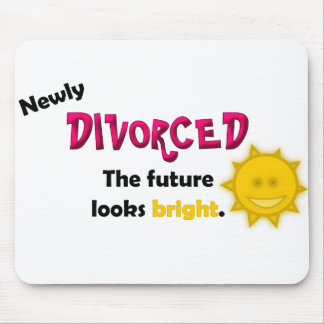 Newly Divorced Mouse Pad