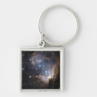 Newly formed stars keychain
