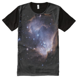 Newly Forming Stars All-Over Print Shirt