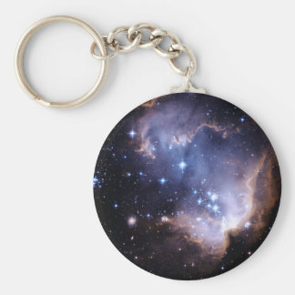 Newly Forming Stars Keychain