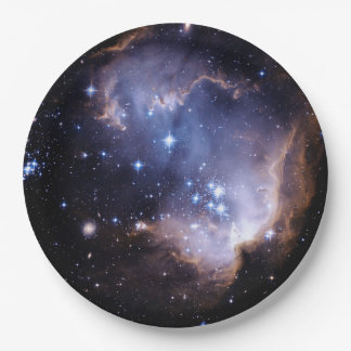 Newly Forming Stars Paper Plate