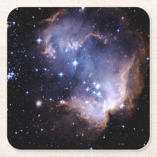 Newly Forming Stars Square Paper Coaster