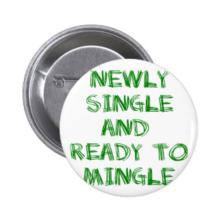Newly Single and Ready to Mingle - 1 - Green Pins