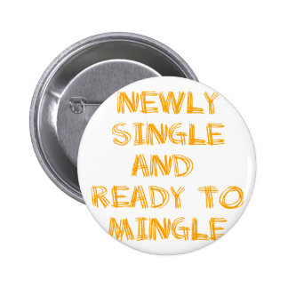 Newly Single and Ready to Mingle - 1 - Orange Buttons