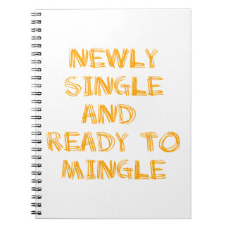 Newly Single and Ready to Mingle - 1 - Orange Notebooks
